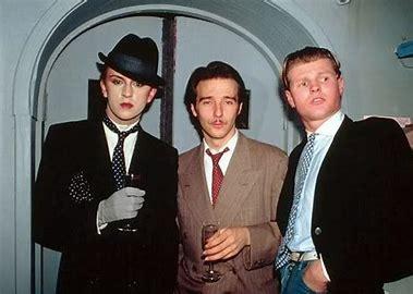 Steve Strange, Midge Ure and Rusty Egan